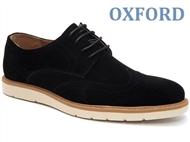 Sapatos Oxford Derby Picado Black com várias medidas à escolha. PORTES INCLUÍDOS.
