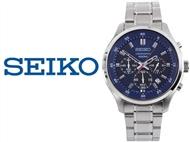 Relógio de Pulso Seiko Neo Sports Silver 10 ATM. Inovação com Design. PORTES INCLUÍDOS.