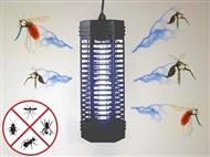 Lâmpada Mata-Insetos de Luz Ultravioleta. Proteja-se dos insetos sem químicos e maus cheiros