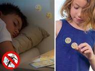 36 Autocolantes Anti-Mosquitos de Óleo de Citronela e Eucalipto
