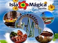 ISLA MÁGICA: Entrada de 1 Dia Completo. Magia e Diversão para toda a Família em Sevilha.