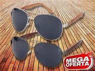 MEGA OFERTA: Óculos de Sol Estilo Aviador. ENVIO IMEDIATO e PORTES INCLUÍDOS.