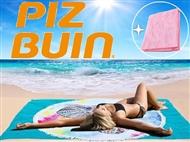 PIZ BUIN: 2 Protectores Solares para Corpo com OFERTA de 1 Toalha Anti-Areia