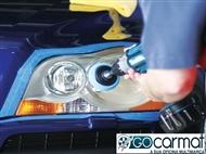 GOCARMAT OFICINAS: Polimento de 2 faróis e check-up da viatura.