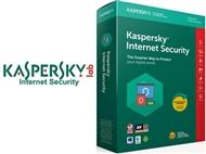 Kaspersky Internet Security 2019: Software de Segurança Máxima Online durante 1 Ano.