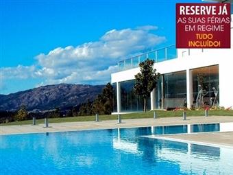 Água Hotel Mondim de Basto 4* com TUDO INCLUÍDO ou MEIA PENSÃO desde 43€. As suas FÉRIAS de VERÃO na NATUREZA.