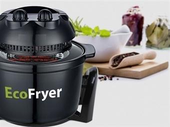 Fritadeira Ecológica sem Óleo: Cozinhe 3 vezes mais Rápido e Economize 60% de Energia por 49.99€. Assa, Grelha, Descongela e mais. PORTES INCLUÍDOS.