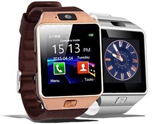 Relógio Telemóvel Deluxe com Câmara, Bluetooth, USB, Micro SD, SmartWatch, SMS, 2 Cores à escolha e mais por 29€. ENVIO: 48H. PORTES INCLUÍDOS.