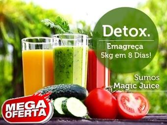 MEGA OFERTA: SUMOS DETOX para 33 Dias mais E-Book com Plano Alimentar por 26€. Emagreça 5 Kg em 8 Dias. 100% Saudáveis. PORTES INCLUIDOS.